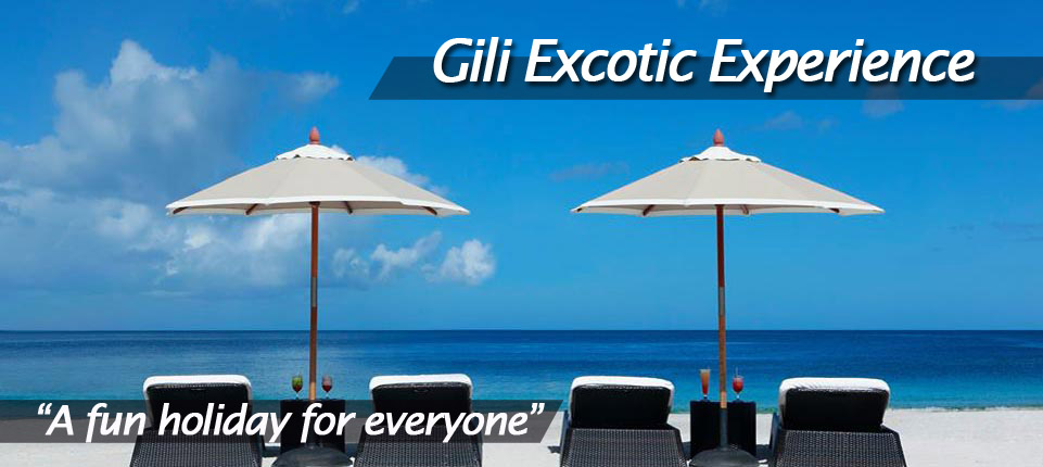 Gili excotic top experience
